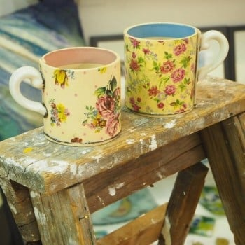 Amazing Pair of Virginia Graham Mugs Was £94 Now £50