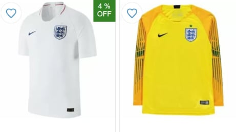 FOOTBALL IS COMING HOME! - SAVE up to 40% on England Merchandise