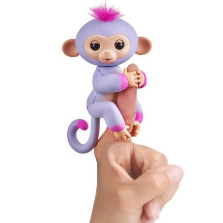 NEW IN - Fingerlings Baby Monkey Two Tone - Sydney (Purple/Pink) £14.99!