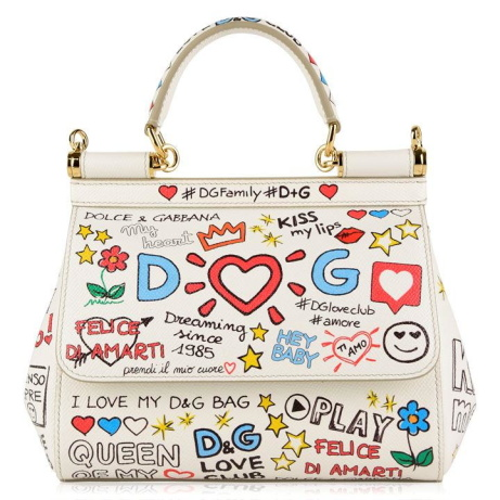 SAVE £350 on this DOLCE AND GABBANA Sicily Small Bag!