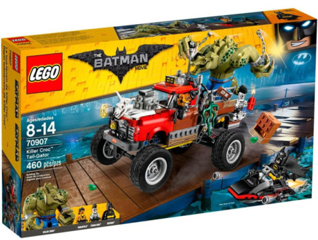 Save £26.00 on this LEGO Batman: Killer Croc Tail-Gator Set