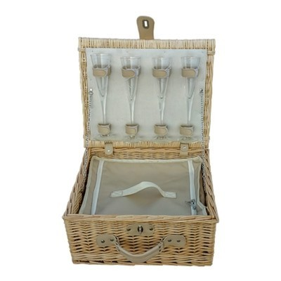 New - Champagne Fitted Picnic Basket £41.00