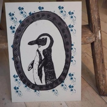 This amazing Alf Eco Penguin Print is now Half Price