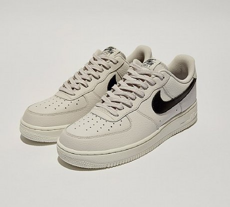 SAVE £10 on Nike Air Force 1 '07 Trainers in Grey / Black / White!