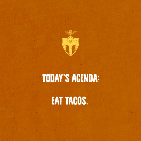 Taco Tuesday get 3 fully loaded tacos for just £6!