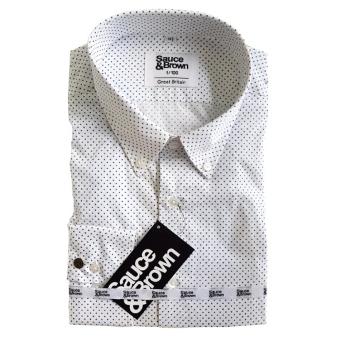 Sometimes its just a simple spot shirt which you need to complement your suit.