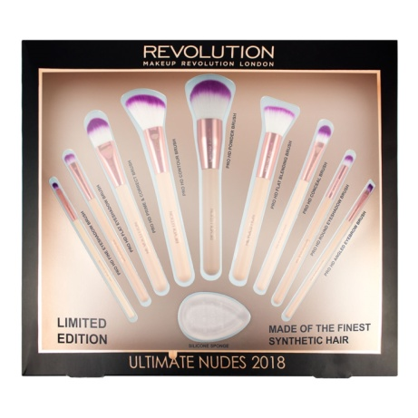 SAVE 60% off Revolution Ultimate Nudes Brush Collection 2018!