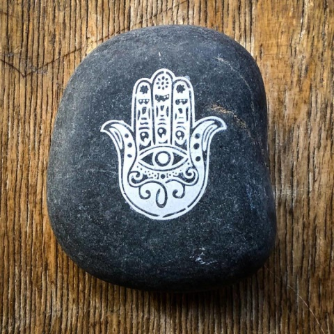 Hand of Fatima palm stones now in stock and only £1.99!