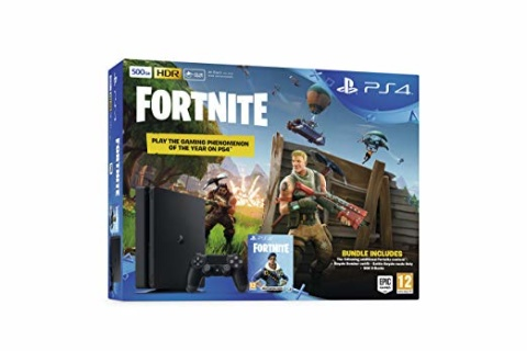 DUALSHOCK 4 BLACK + FORTNITE DLC - £49.99!