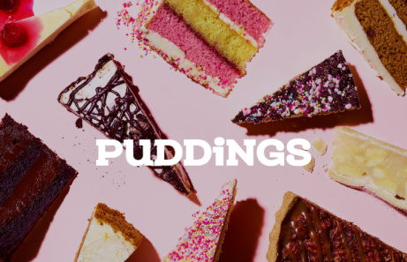 Check out what Puddings we have on our online menu!