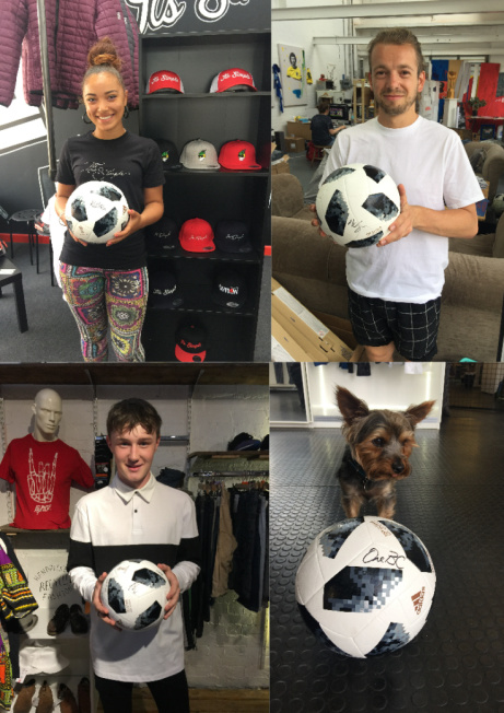 #MondayMadness - WIN - A signed World Cup Football (Signed by Lovely Football Fans of Nottingham)