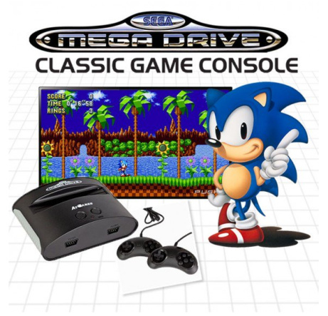 PRE-ORDER - Sega Mega Drive console available for ONLY £59.99!