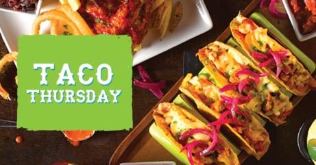 Taco Thursday - £1 Taco's ALL DAY!