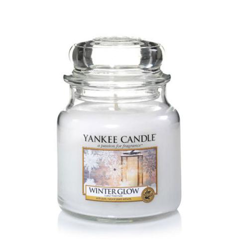 SALE, SAVE 25% - Medium Jar Candle: Winter Glow!