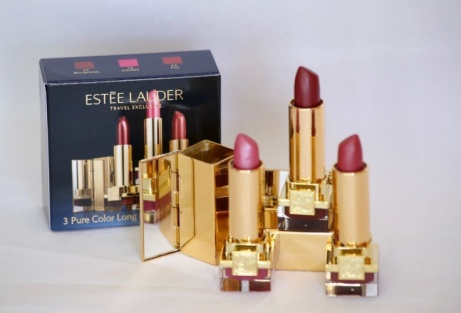 SAVE over 30% on Estee Lauder Set of 3 Pure Color Long Lasting Lip Jewels!
