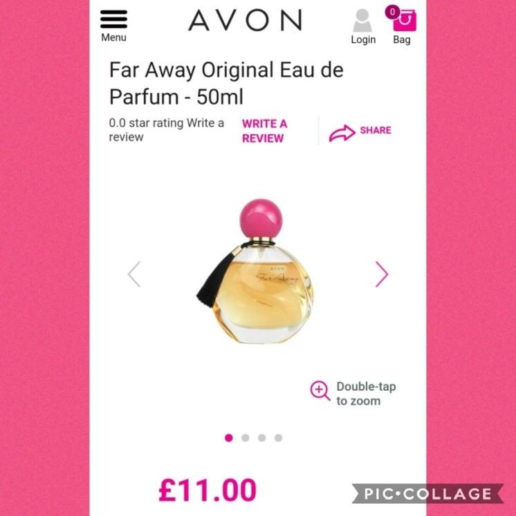 Far Away 50ml perfume
