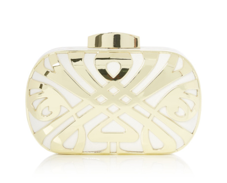 60% OFF this BIBA Logo Box Clutch!