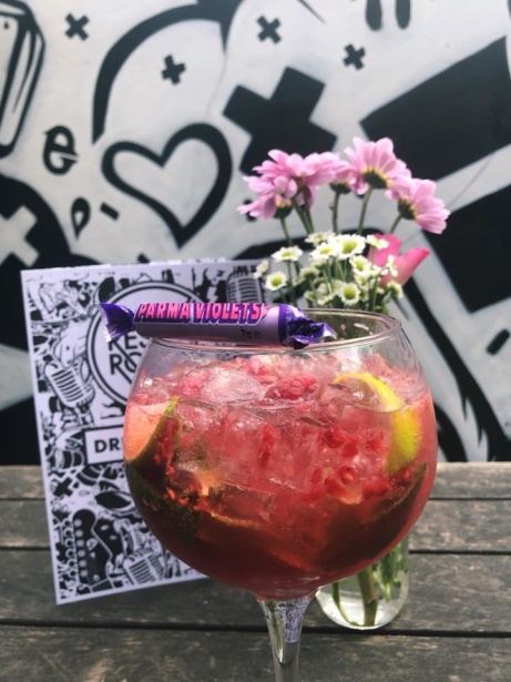 Come and try our NEW 'Parma Violet' gin cocktail in celebration of out Gin Fest in June!