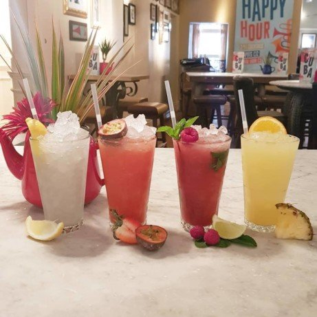MOCKTAILS MADNESS, for all the none drinkers out there! P.s happy hour is between 3pm and 7pm today