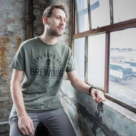 Save £6 on this Brewdog Men's Forest Hops Tee