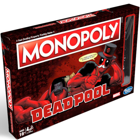 Monopoly - Deadpool Edition Was 29.99 Now 25.99