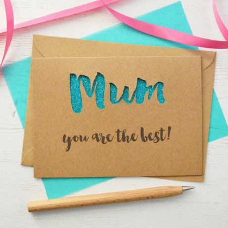 We have some amazing personalised Mother's Day cards