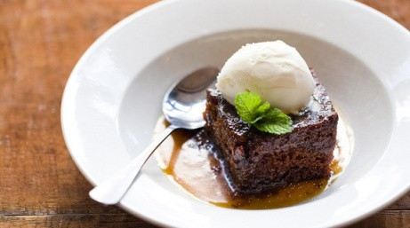 Skip the main... try our vegetarian Chocolate Brownie today for just £5.50!