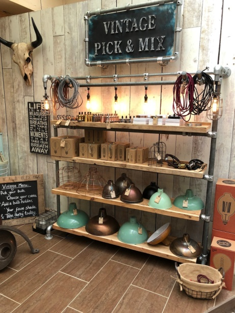 Our new lighting department is now open - VINTAGE PICK & MIX.