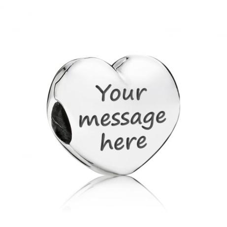 OVER 35% OFF - PANDORA Silver Heart Clip Charm!