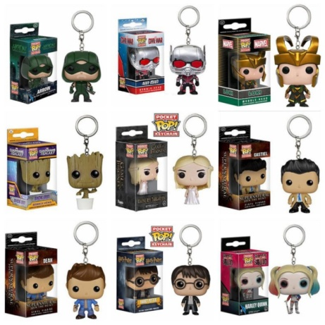 Get any 2 Pop! Keychains for just £10 - SAVE up to 37%!