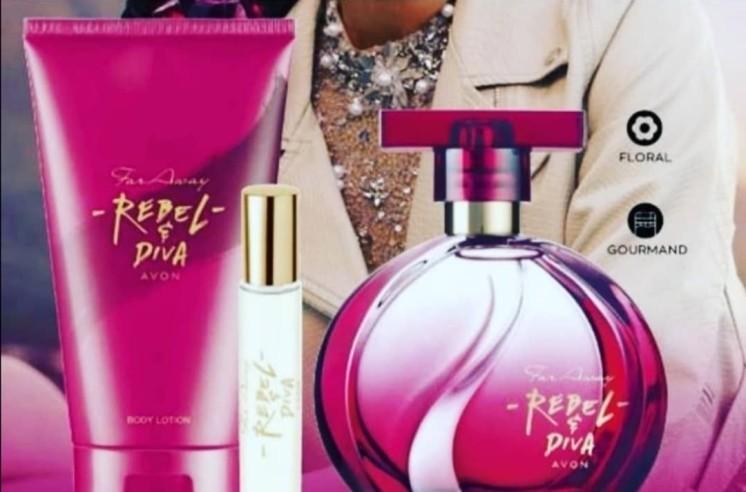 Far Away Rebel&Diva perfume set