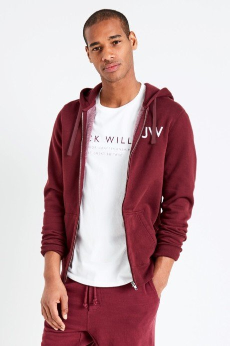 EDERTON ZIP UP HOODIE: Save £40.00!