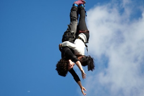 40% OFF - Lovers Leap Bungee Jump + Champagne!