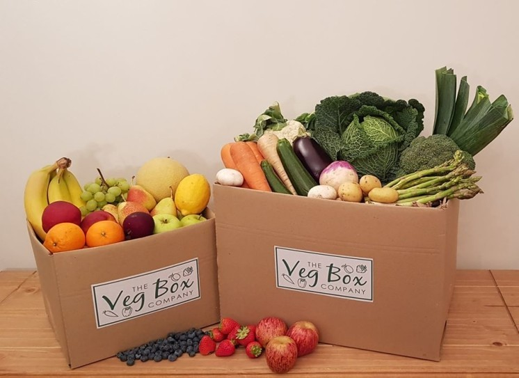 THE BEST VEG, FRUIT AND SALAD BOXES…