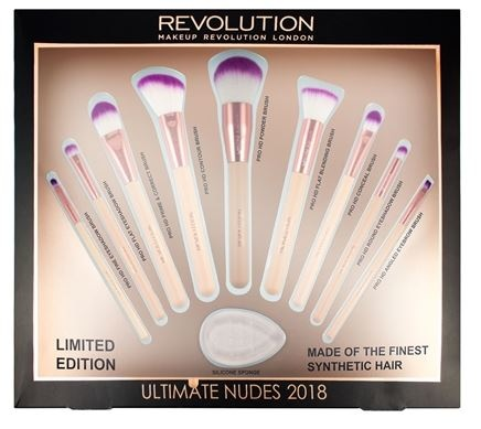 SAVE 84% off Revolution Ultimate Nudes Brush Collection 2018!