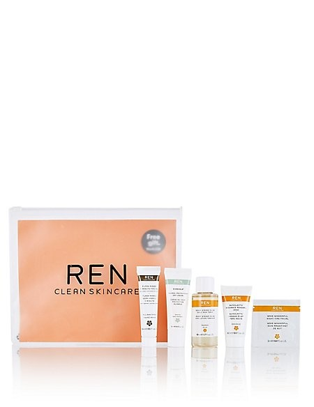 Buy 2 REN Products and get FREE REN Glow Clean Kit!