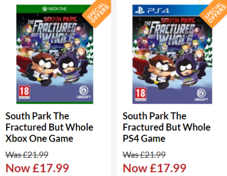 South Park The Fractured But Whole ONLY £17.99