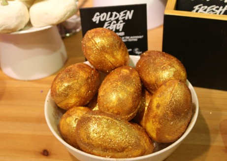 View our range of glorious bursting Bath Bombs - Including Golden Egg £4.95 Each!