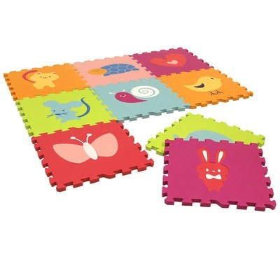 Children's Bright Coloured Animal Play Mats - £9.99 was £19.99