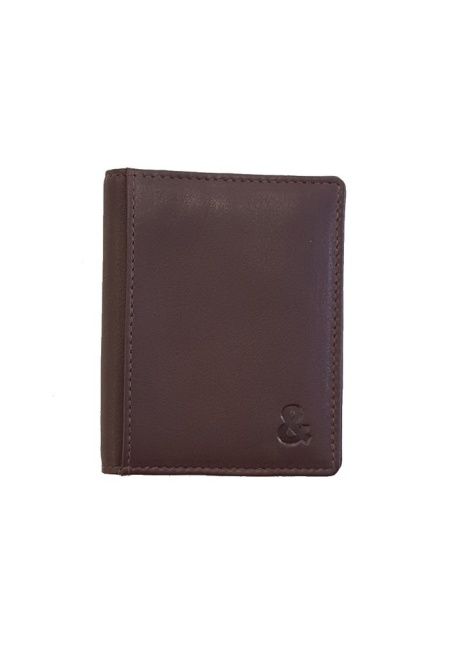Shop the Brown Leather Credit Card Holder - £35.00!