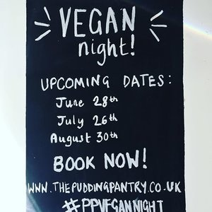 Join us for our 2018 Vegan Nights!