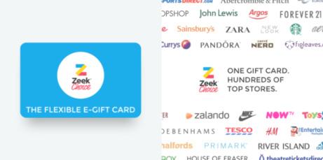 Introducing ZEEK CHOICE - The Ultimate eGift Card!