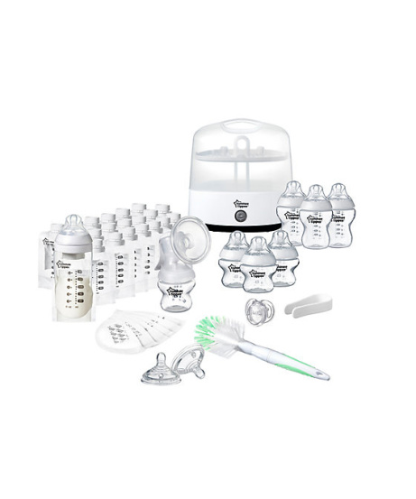 HALF PRICE - Tommee Tippee Closer to Nature Ultimate Breast & Bottle Set!