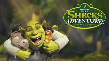SAVE up to 35% on Shrek's Adventure London Tickets!