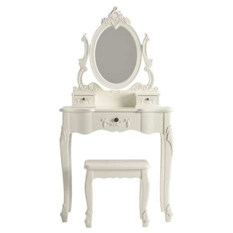 EXCLUSIVE - Toulouse White Dressing Table Set - £189