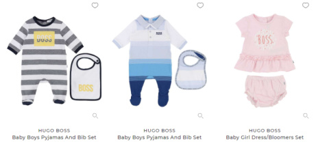 SAVE up to 50% on Hugo Boss Kids & Babies!