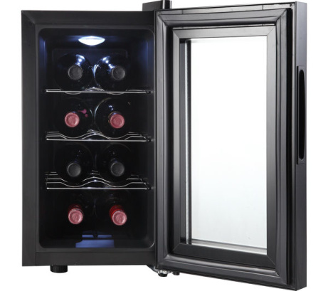 LESS THAN 1/2 PRICE - Essentials Wine Cooler in Black!
