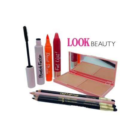SAVE 85% on this Look Beauty Bundle - Eyes, Lips, Face!