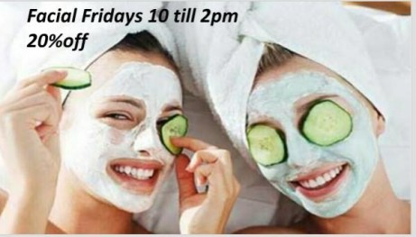 20% off Facial Fridays Book Now