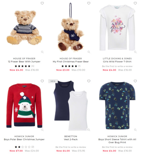 Up to 70% OFF - Kids Clothes & Toys